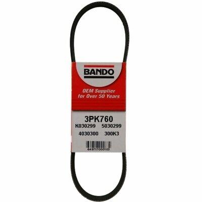 Serpentine Belt-DLX Bando 3PK760