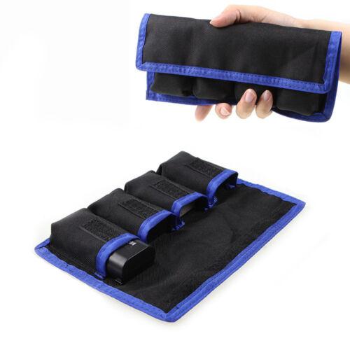 Camera Li-ion Battery Case Pouch Holder For LP-E6 LP-E8 NP-
