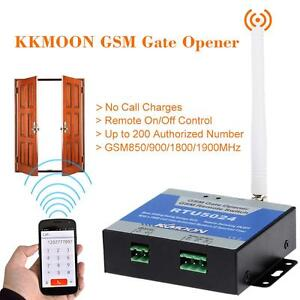 GSM Door Gate Opener Remote On/Off Switch Free Call No Distance Limit 73U3