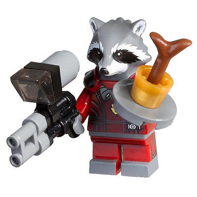 LEGO Guardians of The Galaxy Rocket Raccoon Minifigure Polybag Set 5002145