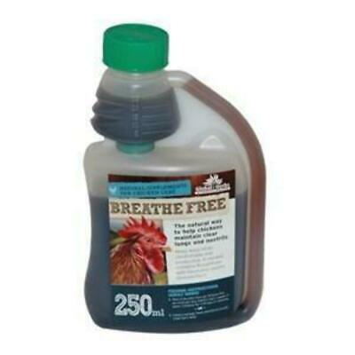 Global Herbs Breathe Free for Chickens Liquid Treatment - 250 ml