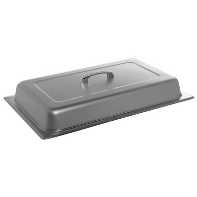 Hubert Full Size 22 Gauge Stainless Steel Dome Steam Table Pan Cover