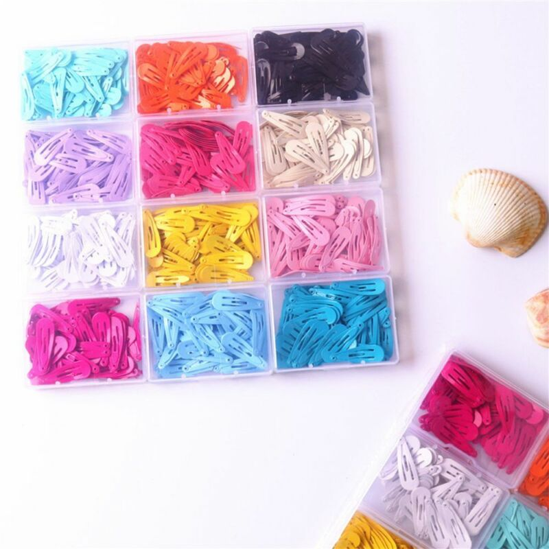30pcs//set Fashion Women Candy Color Paint Hairclip Hairpin Barrette Hair Jewelry
