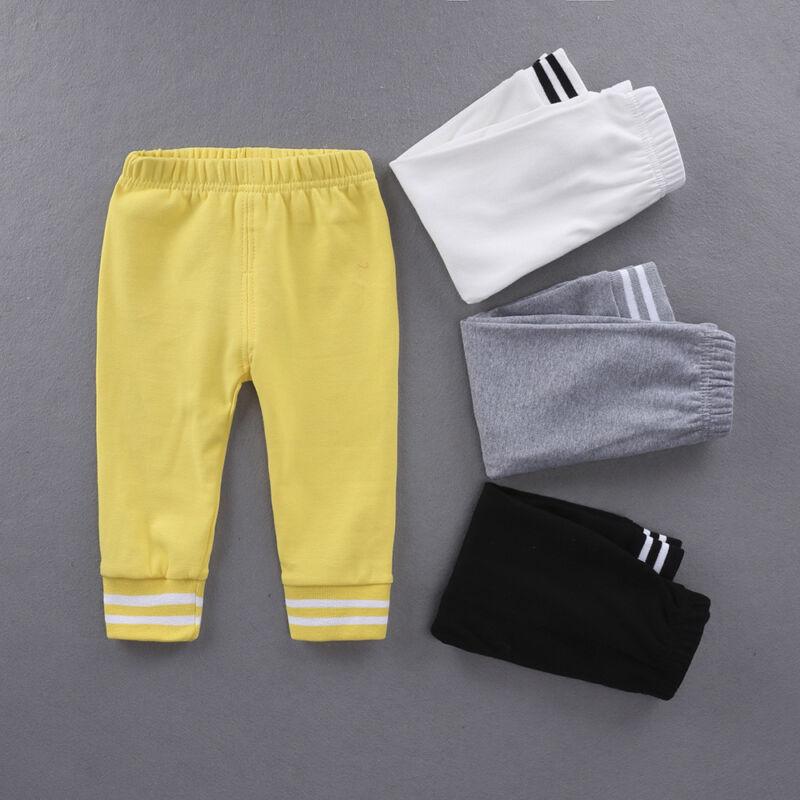 Toddler Kids Harem Pants Newborn Baby Boys Girls Trousers Leggings Size Age 0-6Y