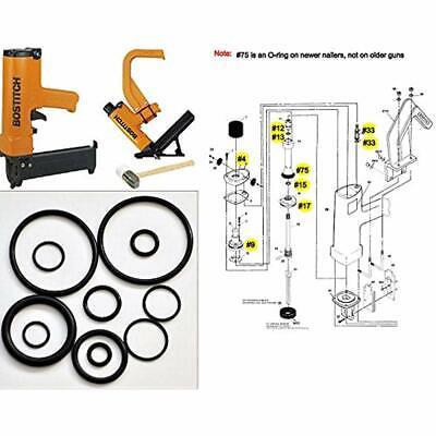 Tool Repair Kit For Miii Miiifn Miiifs Bostitch Hardwood Floor Nailer O-ring