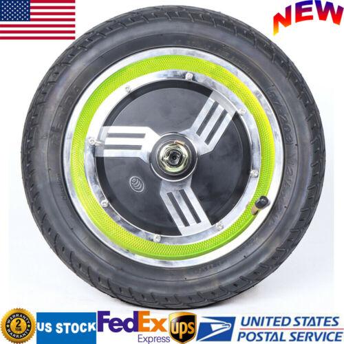 350W 24V 12 inch Wheel Brushless Gearless Hub Motor for Elec