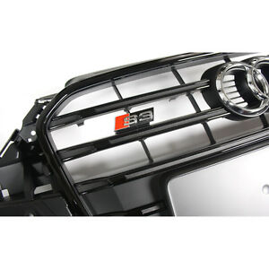 Audi S3 8V Kühlergrill Original S-Line Tuning Frontgrill Exterieur Grill schwarz