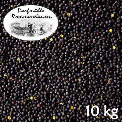 10 kg Semillas de Colza Limpia Negro Black Rapeseed Aceite Almohada Térmica...