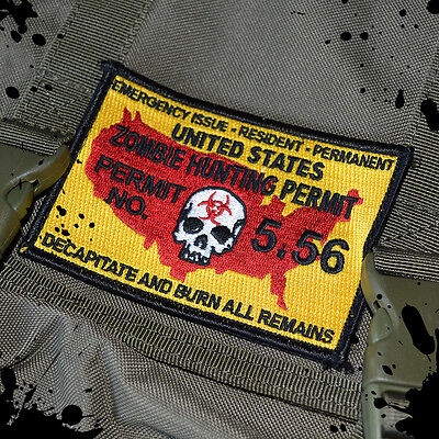 Zombie Undead (Tactical Zombie Undead Killer Hunting Permit Morale Patch)