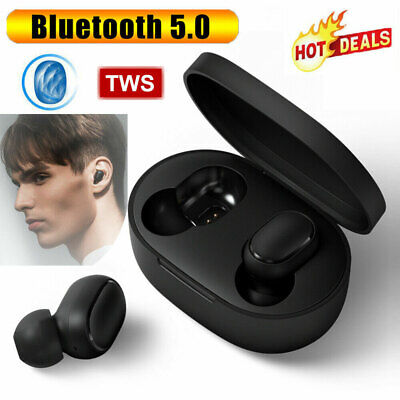 2019 New TWS Airdots Headset Bluetooth 5.0 Earphone Headphone Stereo Earbuds