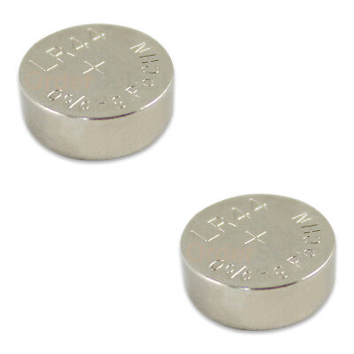 2 PACK NEW Battery Coin Cell Button 1.5V L1154 SR44 SR44W SR44SW V13GA US Seller
