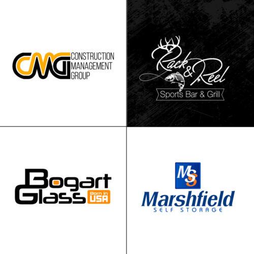 Professional Premium Custom Logo Design - Vector File - Unlimited Revisions