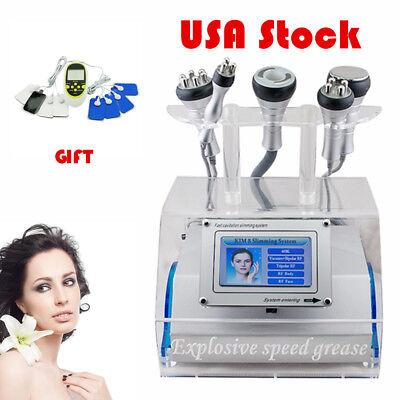 5in1 Cavitation Rf Radio Frequency Vacuum Photon Lipo Laser Slimming Machine Usa
