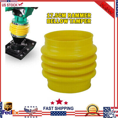 Yellow Jumping Jack Bellows Boot For Wacker Rammer Compactor Tamper Universal X1