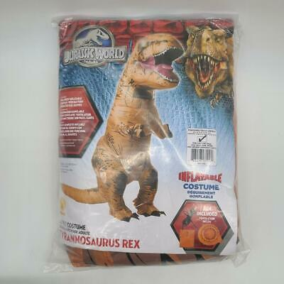 Rubie's Official Jurassic World Inflatable Dinosaur Costume, T-Rex, Standard