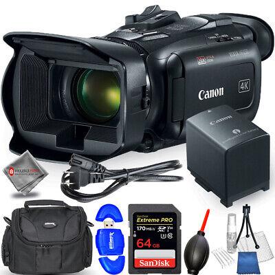 Canon Vixia HF G50 UHD 4K Camcorder (Black) 64GB Bundle - AUTHORIZED DEALER