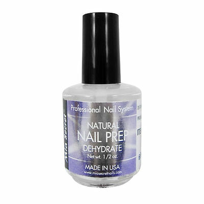Mia Secret Natural Nail Prep Dehydrate 0.5 oz Made in USA Professional Grade