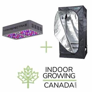 Hydroponic & Soil Grow Kits - Grow Light Kits and Grow Tent Kits | IndoorGrowingCanada.com