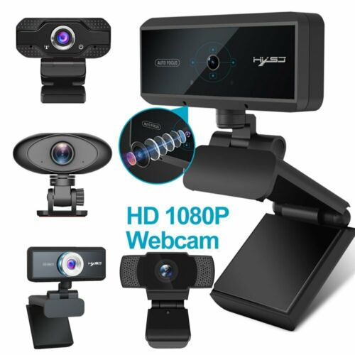 1080P HD Webcam Computer Camera Video Microphone USB for XP/