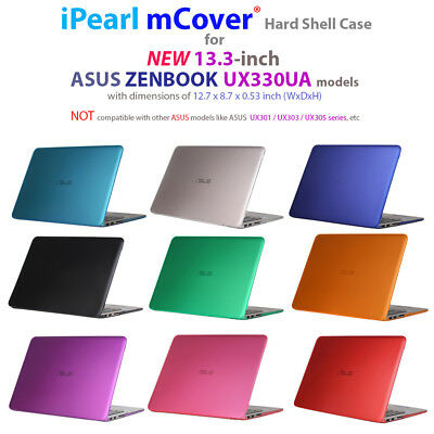 "mCover® HARD Shell CASE for 13.3"" ASUS Zenbook UX330UA series Ultrabook Laptop for sale  Shipping to India"