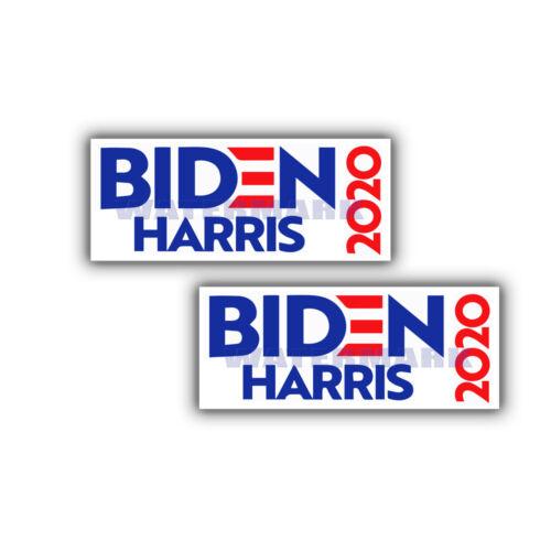 Biden Harris 2020 Democratic Bumper Sticker - 2 PACK