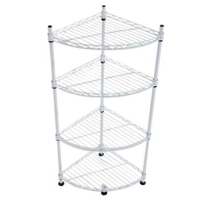 corner wall shelves 4 tier rack storage