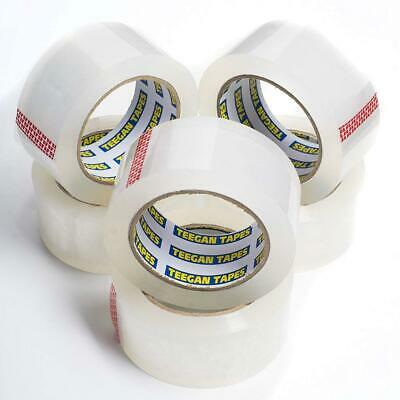 Teegan Tapes Clear Packing Tape - Carton Sealing for Mailing, Shipping,...