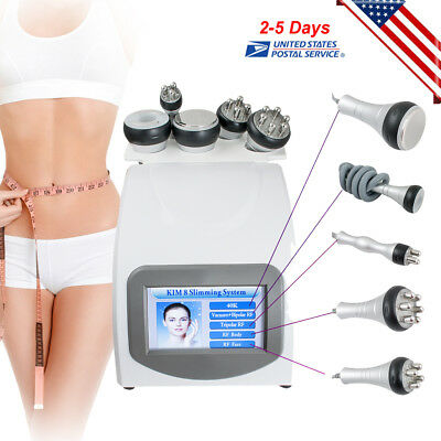 Us 5in1 Ultrasonic Cavitation Rf Radio Frequency Vacuum Slim Slimming Machine Ce