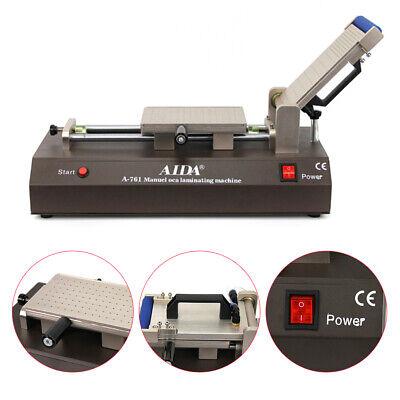 3 In 1 Manual Oca Film Machine Screen Pneumatic Film Laminating Machine A-761