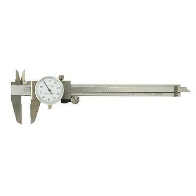 Big Horn 19201 Professional Dial Caliper Vernier 6measuring Range Wplastic Box