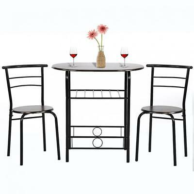 Dining Kitchen Table Dining Set 3 Piece Metal Frame Bar Dining Room Table - Metal Dining Room Set