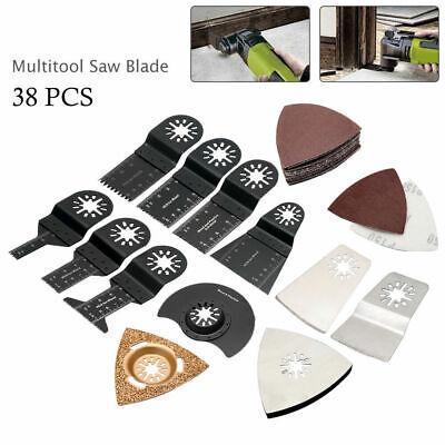 Pro 38pcs Mix Oscillating Saw Blade For Fein Bosch Dremel Makita Multi Tool