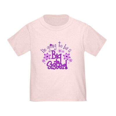 - CafePress I'm Going To Be A Big Sister Kids T Shirt Toddler T-Shirt (783608126)
