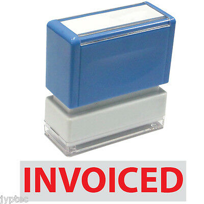 Jyp Pa1040 Pre-inked Rubber Stamp With Invoiced