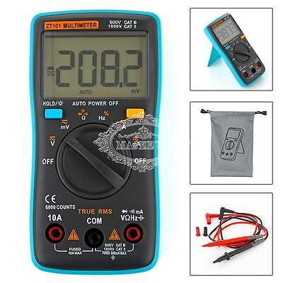 New Auto-Ranging Digital Multimeter Voltmeter Ammeter Ohmmeter OHM AC DC Tester