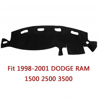Fit 1998-2001 DODGE RAM 1500 2500 3500 Dash Cover Mat Dashboard Pad Custom Fit