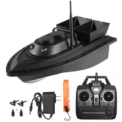 500m RC Futterboot Köderboot Baitboat Doppelmotoren Nachtangeln 2kg Futter Q0N6