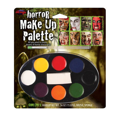 Halloween Make Up Pallete Childrens Adults Fancy Dress Face Paints