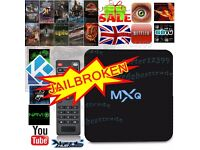 MXQ PRO Quad Core Kodi Android 6.0 TV Box Fully Loaded XBMC Free Sports Movies