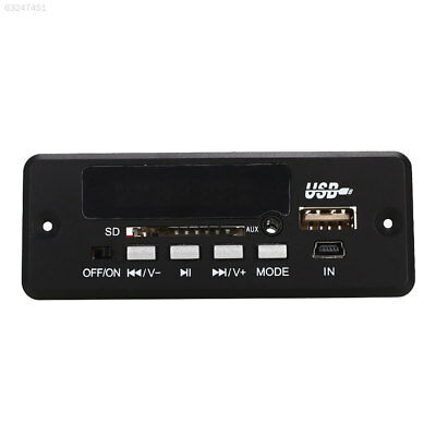 62DD Black New USB SD FM MP3 Player Module 02CBT Remote MP3 parts with bluetooth