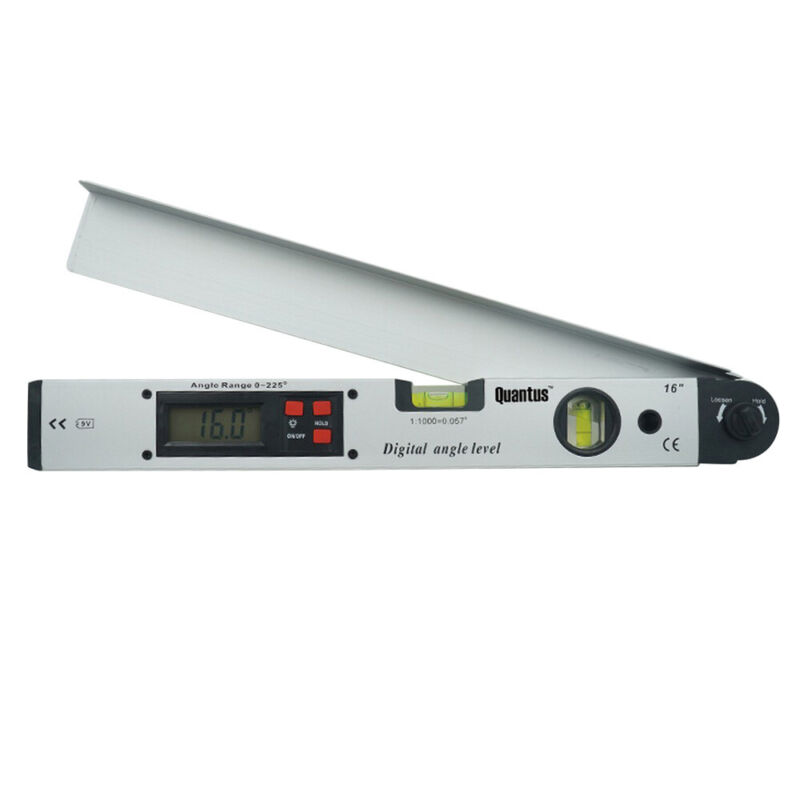 Digital Angle Finder Spirit Level Horizontal and Vertical Degree Low power Alarm