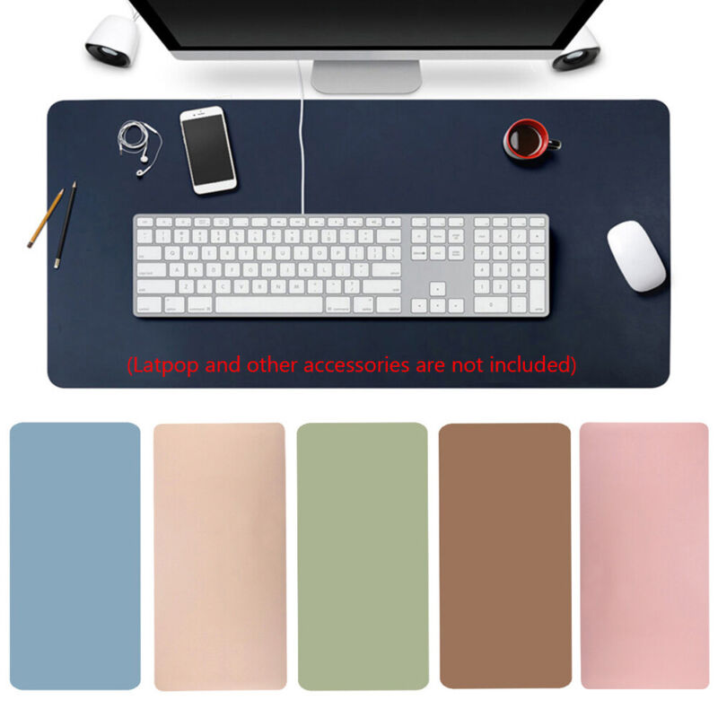 Modern Table Game Laptop Cushion Leather Keyboard Mouse Pad Computer Desk Mat