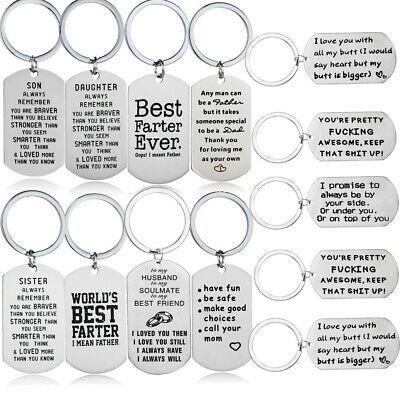 Stainless Steel Gifts For Mom Dad Best Friends Husband Boyfriend Gifts Key (Best Gifts For Boyfriends Mom)