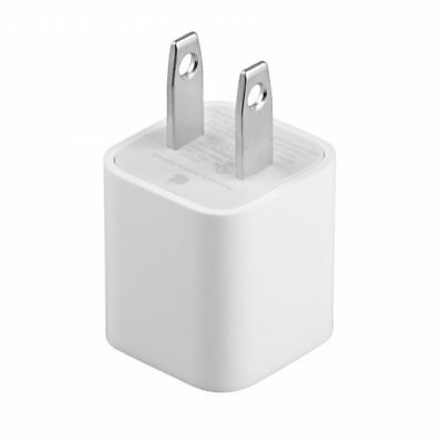 OEM Genuine Apple 5W USB Wall Charger Power Adapter iPhone iPads iPods MD810LL/A