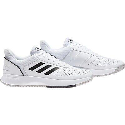 Adidas Courtsmash Tennisschuh für Herren (weiss/schwarz/grau)