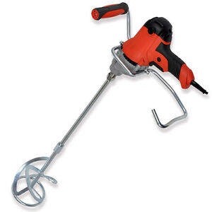 Vitrex Variable Speed Mixing Drill 110V 850W Plaster Mortar Mixer c/w M14 Paddle
