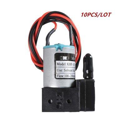 10pcs Ink Pump For Infiniticrystaljetgongzheng Printers 100-200mlmin 24v 3w
