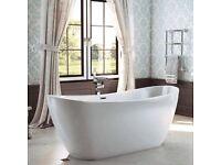 Vicktor Benson Tahiti Double Slipper Bath Was £1199 Now £599