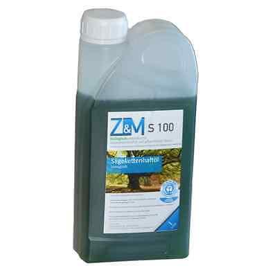Bio Kettenöl 1 Liter Z&M S100 für Benzin / Elektro
