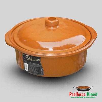 Spanish Terracotta Casserole Dish - 4.5 Litre